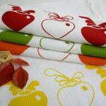 Set of 2TEATOWEL beetroot h..